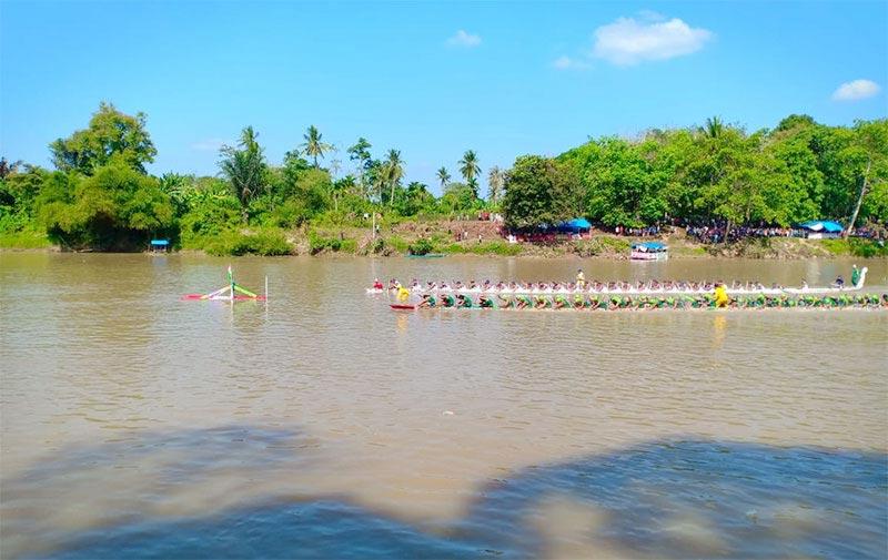 Pacu Jalur Rayon, Pemkab Bantu Rp104 Juta