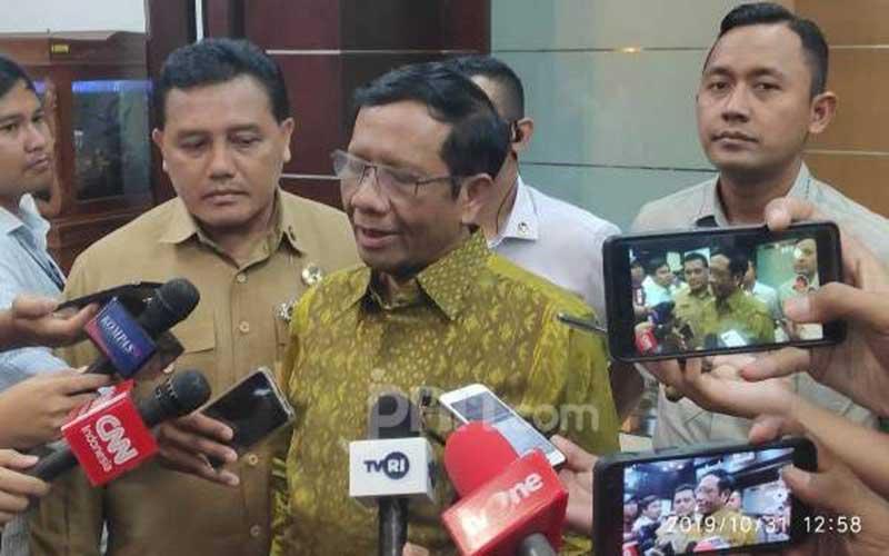 Mahfud Puji Langkah Tiga Pimpinan KPK Menggugat ke MK