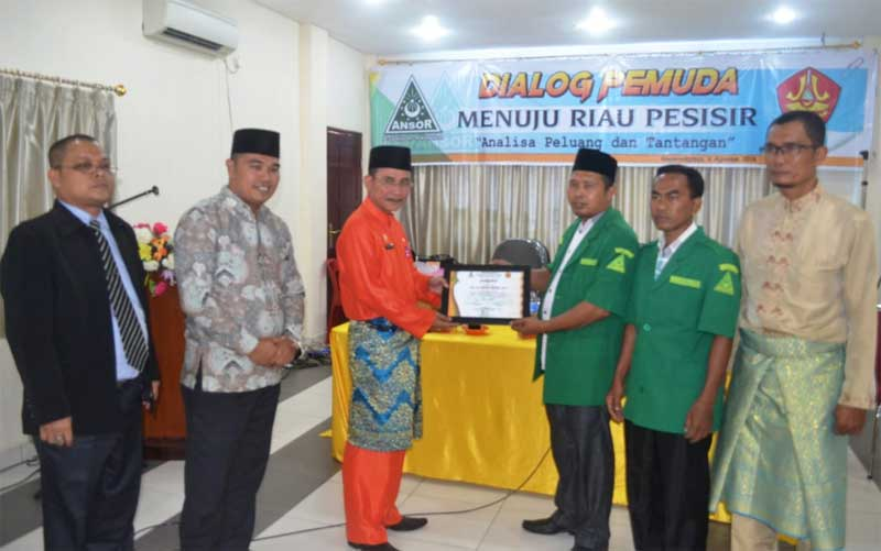 PC GP Ansor Gelar Dialog Riau Pesisir