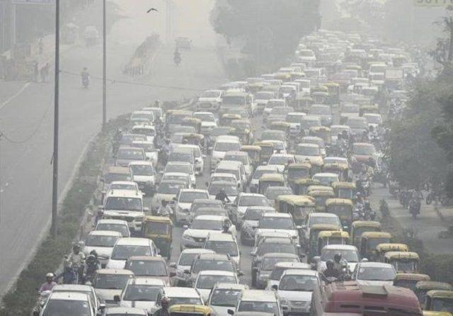 Kurangi Polusi Udara, India Contoh Jakarta