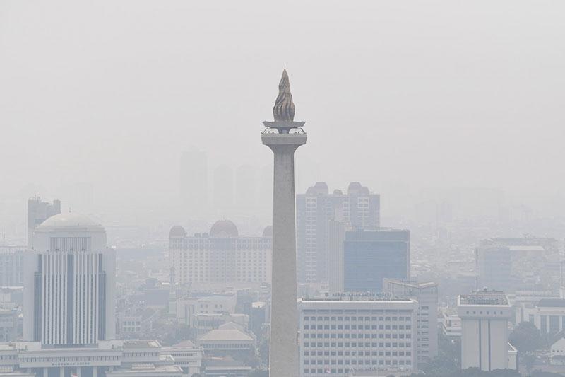 PBB Nilai Polusi di Indonesia Tanda Pembangunan Berjalan
