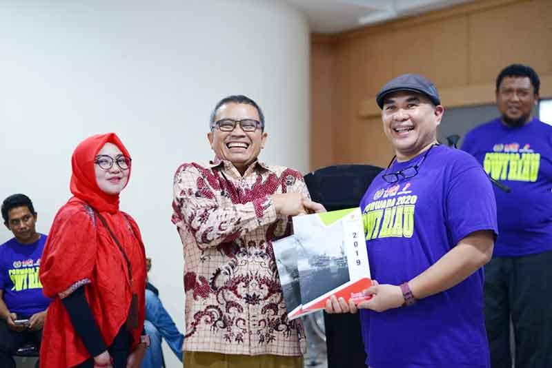 Andi Yusten dan Hadrizal Juara Porwada Tenis Meja PWI Riau