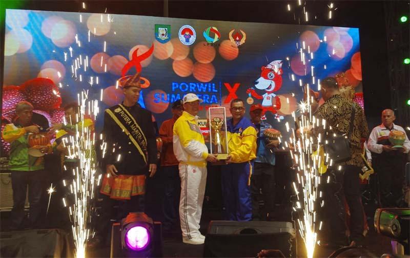 Riau Raih Juara Umum Porwil X Sumatera