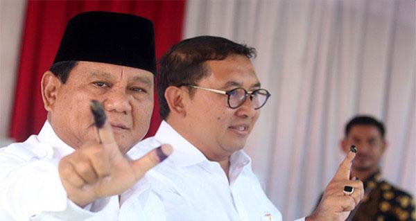 BPN 02: Prabowo Menang 55,4 Persen