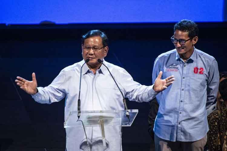 Di 4 Kota Ini Prabowo-Sandi Akan Satu Panggung
