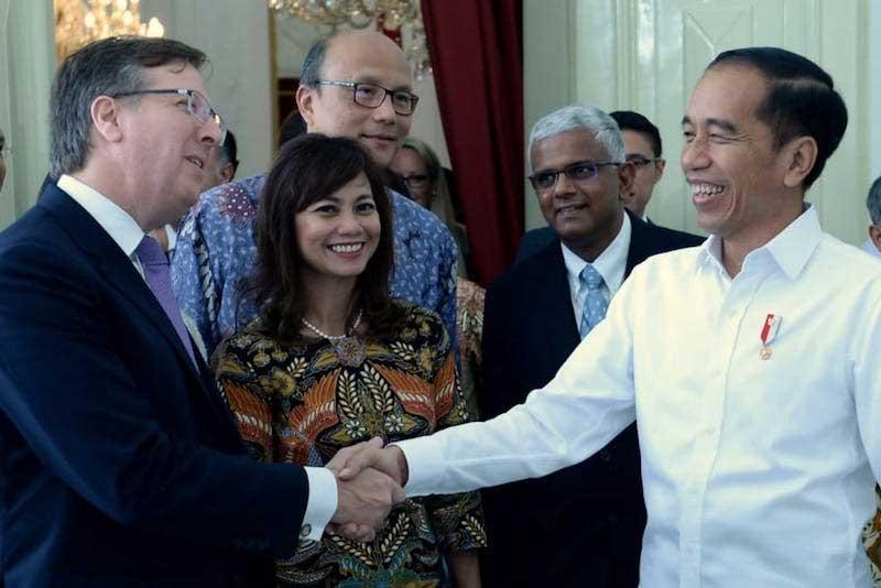 Jokowi Optimis soal Ekonomi RI di Depan Dewan Bisnis AS-ASEAN