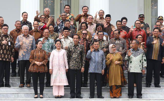Momen Hari-hari Terakhir Jokowi Bersama Kabinet Kerja