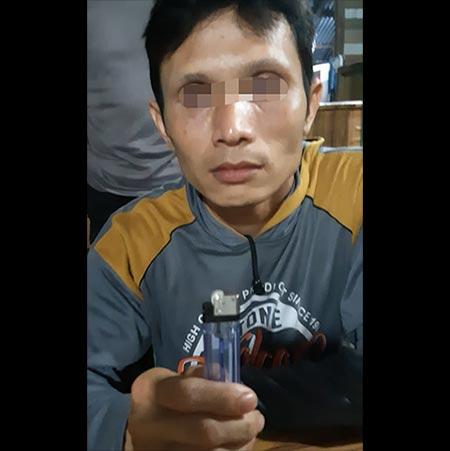 Bakar Lahan, Warga Kuala Cenaku Ditangkap Polisi