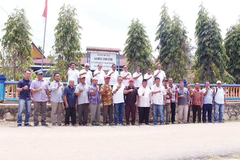 PTPN V Siap Remajakan 914 Hektare Sawit Rakyat di Rohil