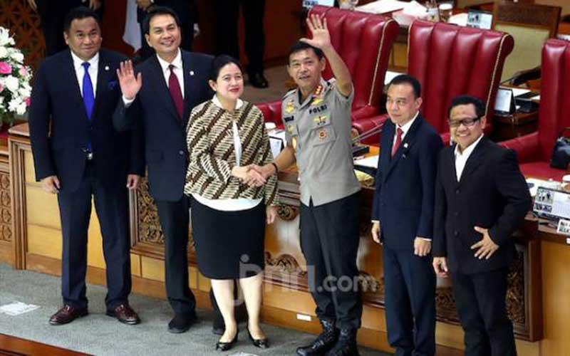Ketukan Palu Mbak Puan Kukuhkan Idham Azis jadi Pengganti Tito Karnavian