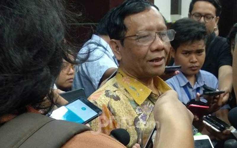 Mahfud MD soal Pengamanan Reuni Akbar 212 di Monas