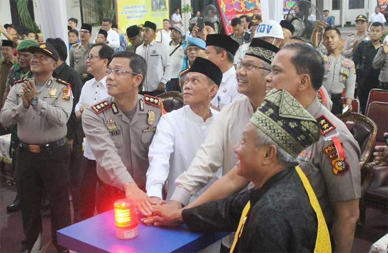 Kapolda Resmikan Gedung SPKT Dan MPP Parama Satwika