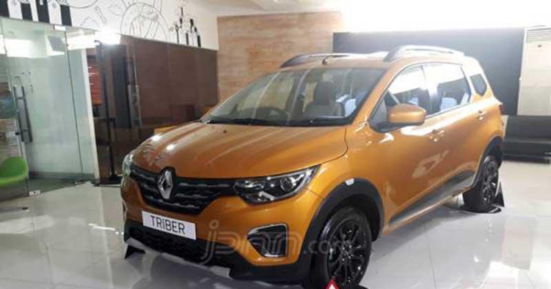 Renault Triber Mulai dari Rp 133 Juta