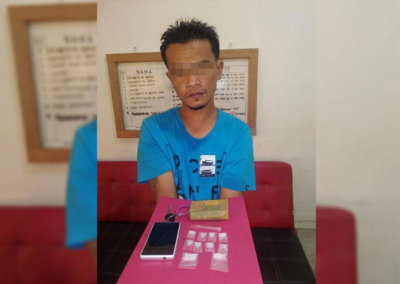 Polisi Tangkap Resedivis Sabu