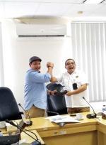 PWI Riau Silaturahim ke Perwakilan SKK Migas