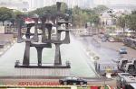 Sekat Demonstran Masuk Jakarta
