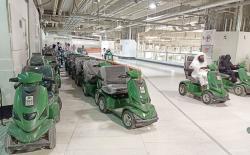700 Unit Scooter Elektrik Siap Dimanfaatkan Jamaah di Masjidilharam