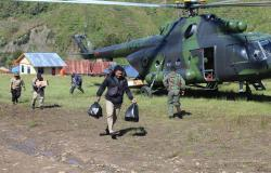 Pencarian Heli TNI AD Difokuskan di Oskop