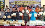 Polisi Gagalkan Penyeludupan 99 Kg Sabu