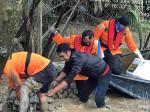 Korban Jatuh dari Jembatan Getek Berhasil Ditemukan