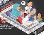 Jaringan Indihome Gangguan, Siswa Bingung Sekolah Daring