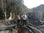 Dua Unit Rumah Bertingkat di Tandun Ludes Terbakar, Kerugian Ditaksir Rp400 Juta