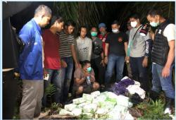 Polres Inhil Gagalkan Penyeludupan Puluhan Kg Sabu