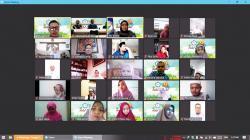 STIKes PN Pekanbaru Halalbihalal dan Peresmian Dua Prodi Baru via Virtual