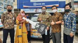 Saldo Rp800 Ribu di BRI, Warga Tanjungpauh Dapat Mobil