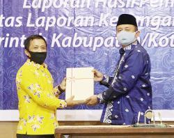 Terima WTP dari BPK RI Perwakilan Riau