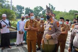 Kapolresta Jalin Silaturahmi dengan Tokoh Masyarakat di Rumbai