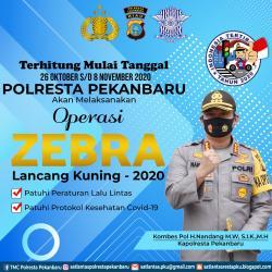 Besok Operasi Zebra Lancang Kuning Digelar