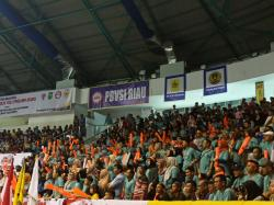 Ribuan Penonton Padati Gelanggang Remaja Pekanbaru