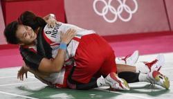 Greysia/Apriyani Ukir Sejarah Raih Emas Olimpiade Tokyo