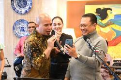 Ahmad Dhani Cabut Undian Give Away Subscriber dan Followers Bamsoet, Hadiahnya?