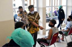 Rekor 40.027 Suntikan Vaksin Sehari, Pimpinan DPRD Apresiasi Polda Riau