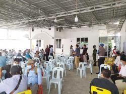 Tim Yustisi Bubarkan Kerumunan di Rumah Bupati