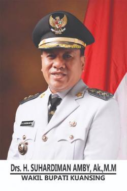 Gubri Tunjuk Suhardiman Amby Plt Bupati Kuansing