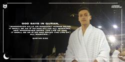 Ozil: Teroris Tak Punya Tempat di Islam