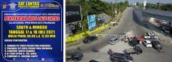 Sabtu-Ahad Akses ke Jalan Soebrantas Pekanbaru Ditutup