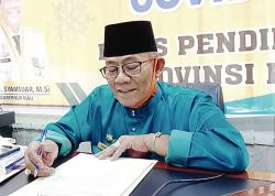 Bosda SMA/SMK Swasta di Riau Segera Dicairkan