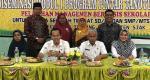 Kasek SD dan SMP Tualang Dibekali Pelatihan MBS