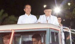 Jokowi-Ma'ruf Unggul 16,5 Juta Suara