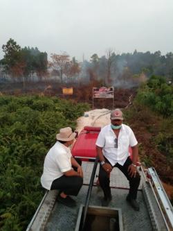 Lahan Terbakar, Papan Pemilik Terpampang, Namun Tak Kunjung Datang