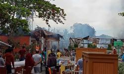 SD 118 Rumbai Terbakar saat Proses Tatap Muka Berlangsung