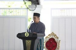 Salat Idul Fitri di Rumah, Gubri Bertindak Sebagai Khatib