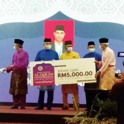 MTQ Antarbangsa DMDI, Utusan Riau Juara Pertama