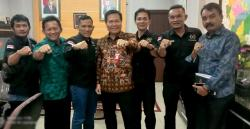 PWI Pekanbaru Silaturahmi dengan Kanwil BPN Riau