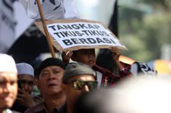 Indeks Korupsi Indonesia Turun 3 Poin