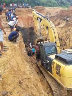 Tambang Batubara Longsor, 11 Meninggal Tertimbun